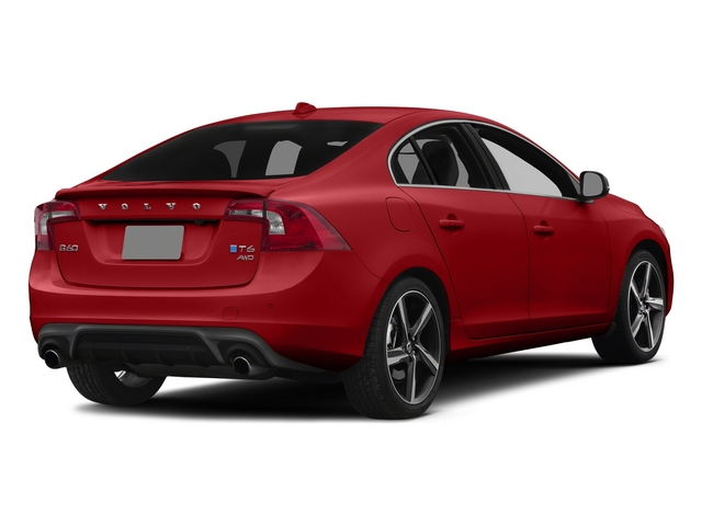 Passion Red 2015 Volvo S60 Pictures S60 Sedan 4D T6 Platinum R-Design AWD photos rear view