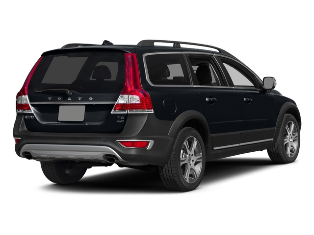 Black Sapphire Metallic 2015 Volvo XC70 Pictures XC70 Wagon 4D T6 Platinum AWD Turbo photos rear view