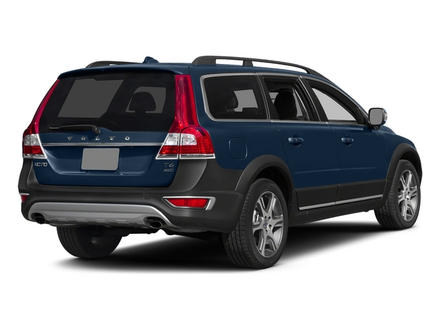 Caspian Blue Metallic 2015 Volvo XC70 Pictures XC70 Wagon 4D T6 Platinum AWD Turbo photos rear view