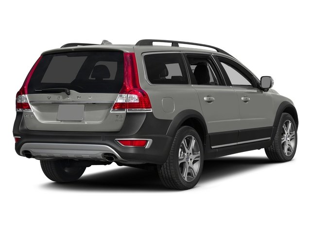 Bright Silver Metallic 2015 Volvo XC70 Pictures XC70 Wagon 4D T6 Platinum AWD Turbo photos rear view