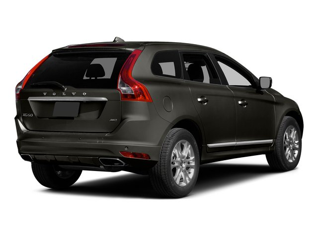Savile Gray Metallic 2015 Volvo XC60 Pictures XC60 Utility 4D T5 Platinum AWD I5 Turbo photos rear view