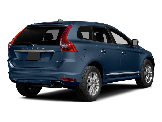 Caspian Blue Metallic 2015 Volvo XC60 Pictures XC60 Utility 4D T5 Platinum AWD I5 Turbo photos rear view