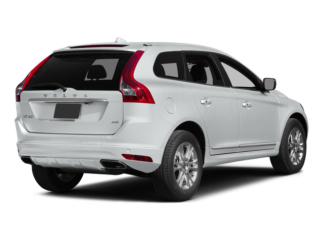 Crystal White Pearl 2015 Volvo XC60 Pictures XC60 Utility 4D T5 Platinum AWD I5 Turbo photos rear view