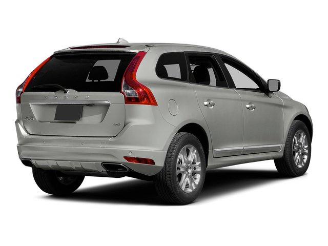 Bright Silver Metallic 2015 Volvo XC60 Pictures XC60 Utility 4D T5 Platinum AWD I5 Turbo photos rear view