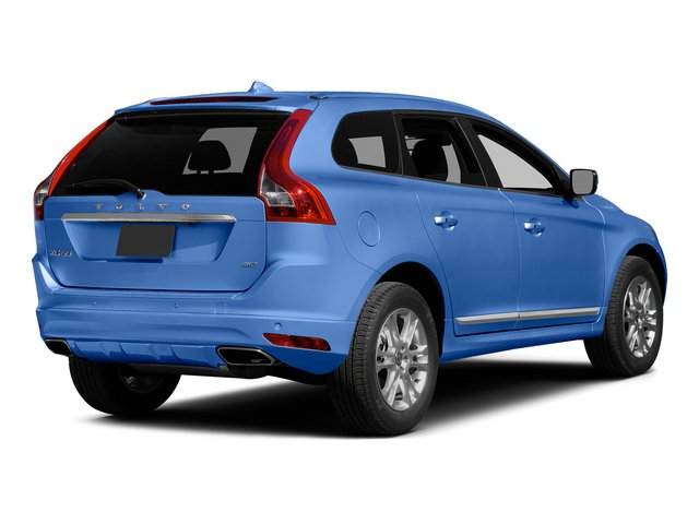 Power Blue Metallic 2015 Volvo XC60 Pictures XC60 Utility 4D T5 Platinum AWD I5 Turbo photos rear view