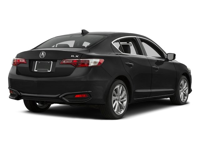 Graphite Luster Metallic 2016 Acura ILX Pictures ILX Sedan 4D I4 photos rear view