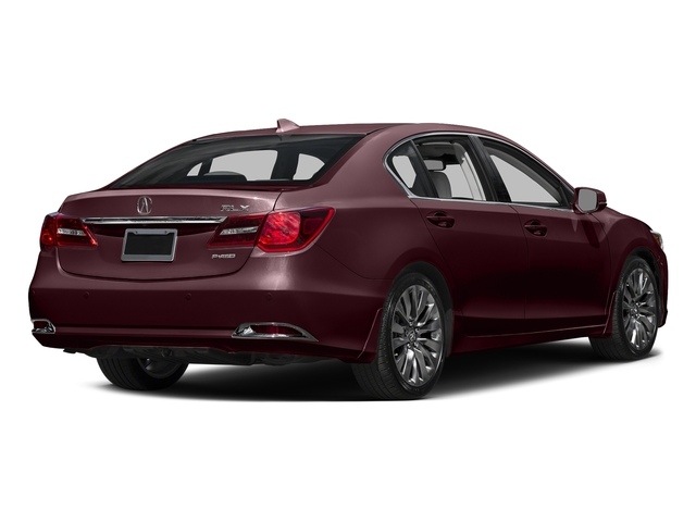 Pomegranate Pearl 2016 Acura RLX Pictures RLX Sedan 4D Advance V6 photos rear view