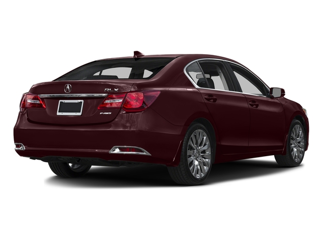 Pomegranate Pearl 2016 Acura RLX Pictures RLX Sedan 4D Technology V6 photos rear view