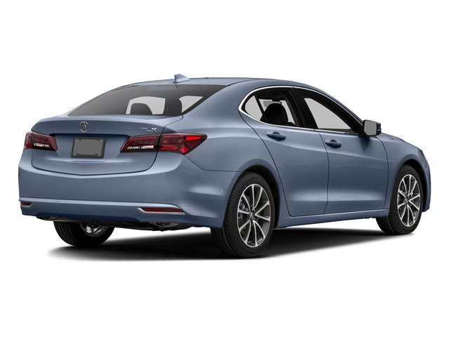 Fathom Blue Pearl 2016 Acura TLX Pictures TLX Sedan 4D Technology V6 photos rear view