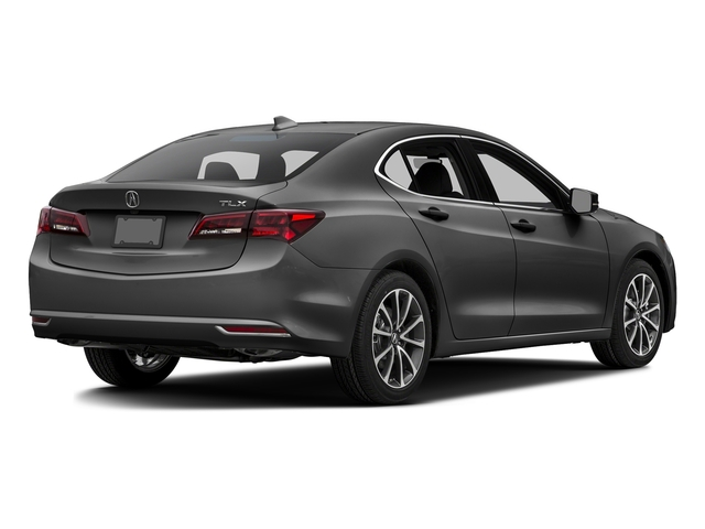 Graphite Luster Metallic 2016 Acura TLX Pictures TLX Sedan 4D Technology V6 photos rear view