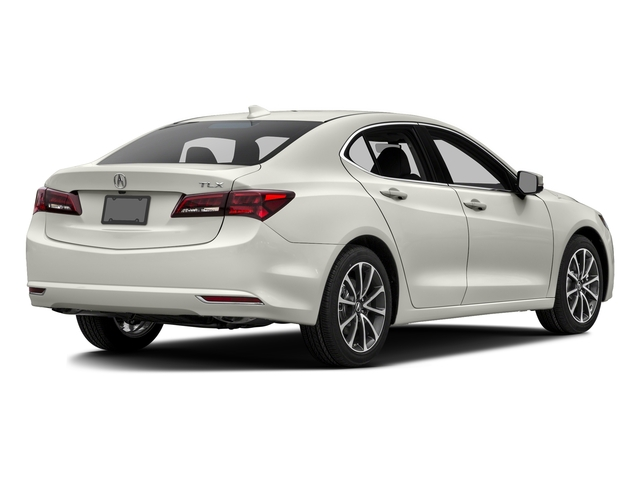 Bellanova White Pearl 2016 Acura TLX Pictures TLX Sedan 4D Technology V6 photos rear view