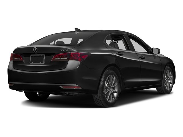 Crystal Black Pearl 2016 Acura TLX Pictures TLX Sedan 4D Advance V6 photos rear view