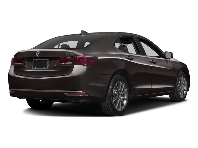 Black Copper Pearl 2016 Acura TLX Pictures TLX Sedan 4D Advance V6 photos rear view