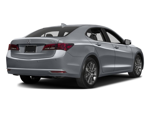 Slate Silver Metallic 2016 Acura TLX Pictures TLX Sedan 4D Advance V6 photos rear view