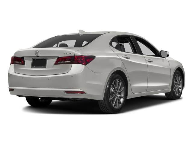 Bellanova White Pearl 2016 Acura TLX Pictures TLX Sedan 4D Advance V6 photos rear view