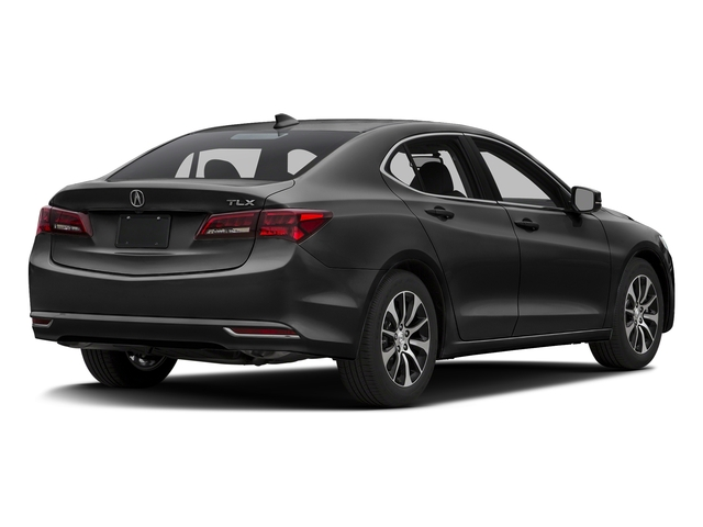 Crystal Black Pearl 2016 Acura TLX Pictures TLX Sedan 4D I4 photos rear view