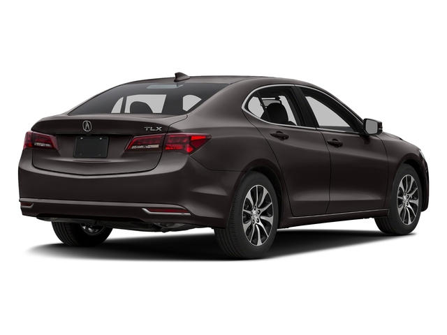 Black Copper Pearl 2016 Acura TLX Pictures TLX Sedan 4D I4 photos rear view