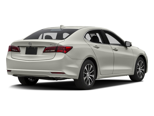 Bellanova White Pearl 2016 Acura TLX Pictures TLX Sedan 4D I4 photos rear view