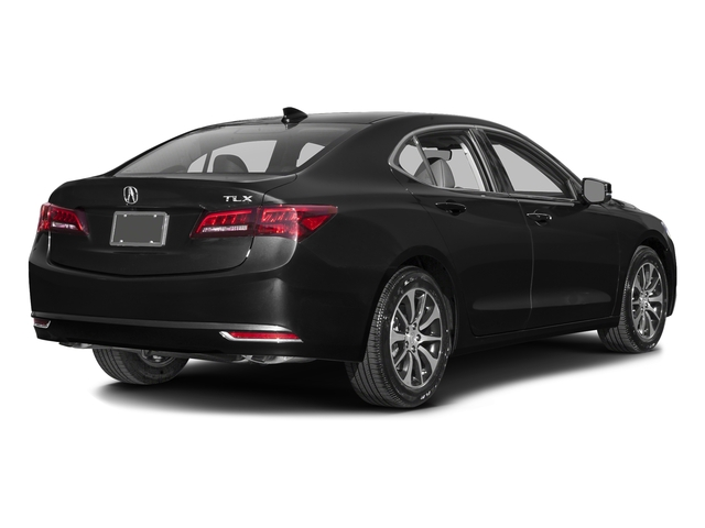 Crystal Black Pearl 2016 Acura TLX Pictures TLX Sedan 4D Technology I4 photos rear view