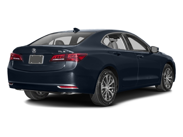 Fathom Blue Pearl 2016 Acura TLX Pictures TLX Sedan 4D Technology I4 photos rear view