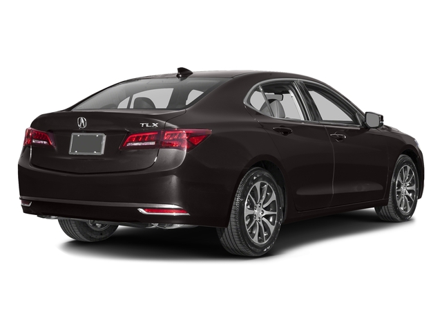 Black Copper Pearl 2016 Acura TLX Pictures TLX Sedan 4D Technology I4 photos rear view