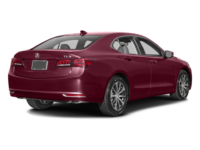 Basque Red Pearl II 2016 Acura TLX Pictures TLX Sedan 4D Technology I4 photos rear view