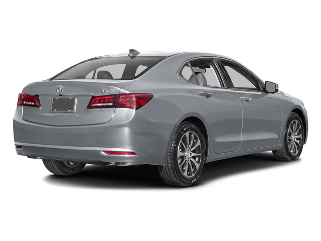 Slate Silver Metallic 2016 Acura TLX Pictures TLX Sedan 4D Technology I4 photos rear view