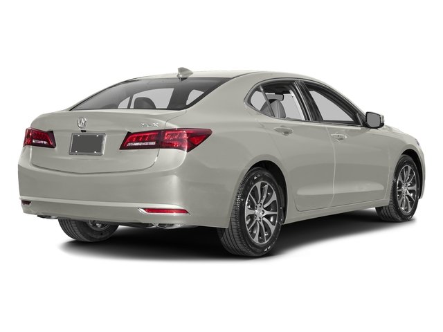 Bellanova White Pearl 2016 Acura TLX Pictures TLX Sedan 4D Technology I4 photos rear view