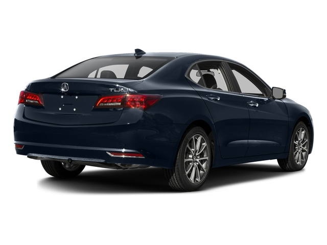 Fathom Blue Pearl 2016 Acura TLX Pictures TLX Sedan 4D V6 photos rear view