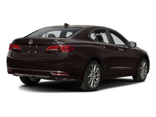 Black Copper Pearl 2016 Acura TLX Pictures TLX Sedan 4D V6 photos rear view
