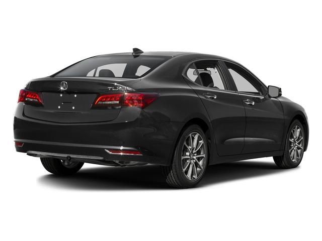 Graphite Luster Metallic 2016 Acura TLX Pictures TLX Sedan 4D V6 photos rear view