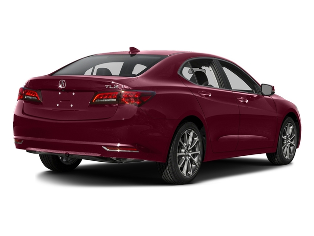 Basque Red Pearl II 2016 Acura TLX Pictures TLX Sedan 4D V6 photos rear view