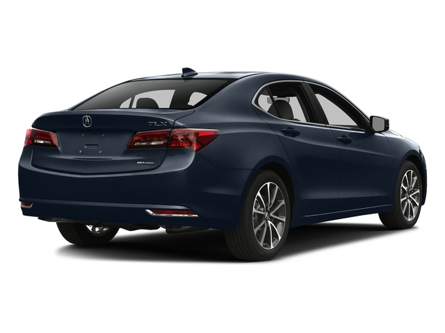 Fathom Blue Pearl 2016 Acura TLX Pictures TLX Sedan 4D Technology AWD V6 photos rear view