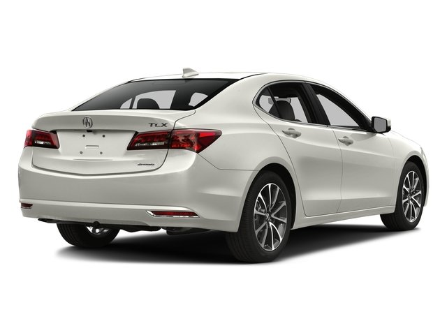Bellanova White Pearl 2016 Acura TLX Pictures TLX Sedan 4D Technology AWD V6 photos rear view