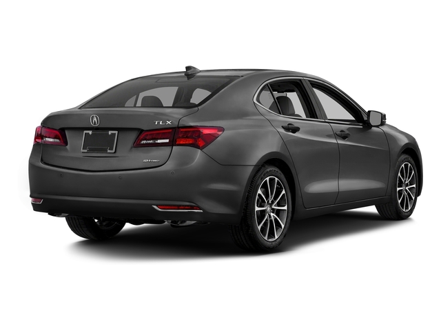 Graphite Luster Metallic 2016 Acura TLX Pictures TLX Sedan 4D Advance AWD V6 photos rear view