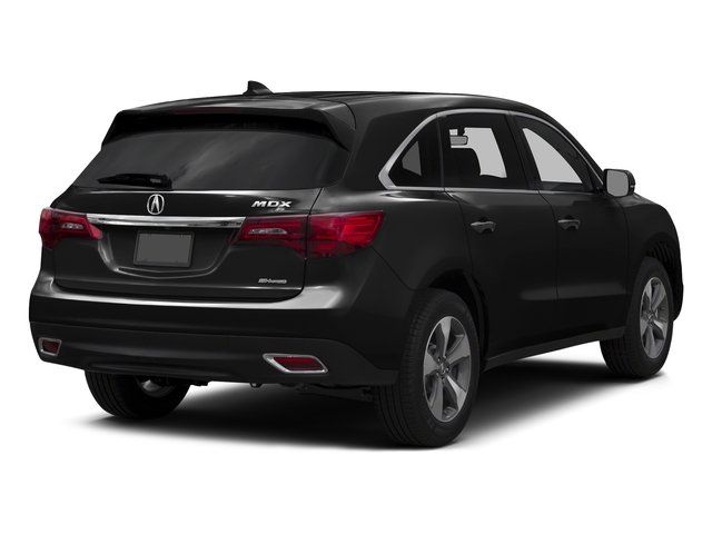 Crystal Black Pearl 2016 Acura MDX Pictures MDX Utility 4D AWD V6 photos rear view