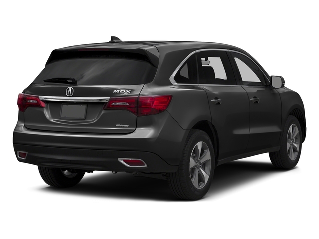 Graphite Luster Metallic 2016 Acura MDX Pictures MDX Utility 4D AWD V6 photos rear view
