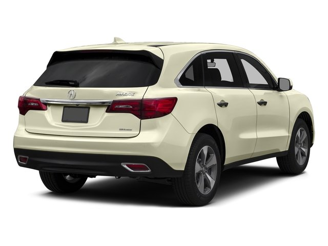 White Diamond Pearl 2016 Acura MDX Pictures MDX Utility 4D AWD V6 photos rear view