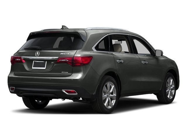 Forest Mist Metallic 2016 Acura MDX Pictures MDX Utility 4D Advance AWD V6 photos rear view