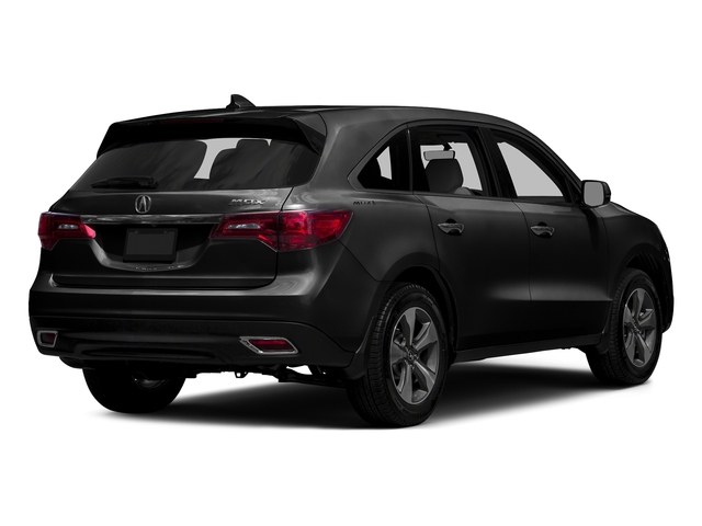 Crystal Black Pearl 2016 Acura MDX Pictures MDX Utility 4D 2WD V6 photos rear view