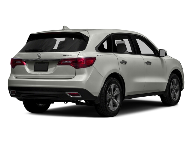 Lunar Silver Metallic 2016 Acura MDX Pictures MDX Utility 4D 2WD V6 photos rear view