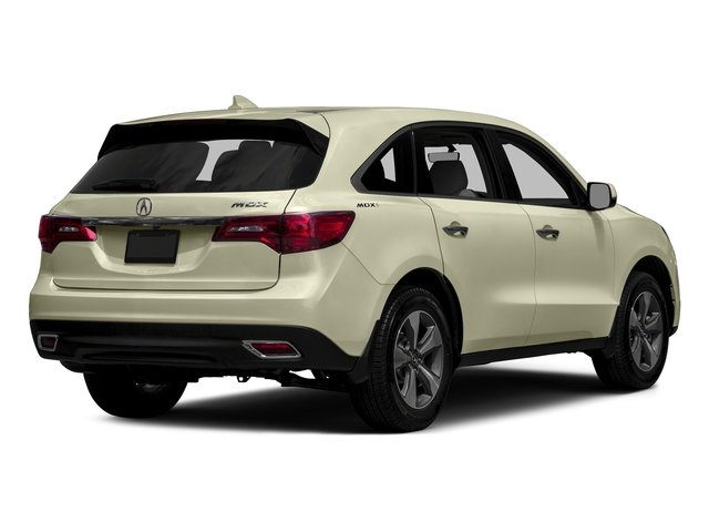 White Diamond Pearl 2016 Acura MDX Pictures MDX Utility 4D 2WD V6 photos rear view