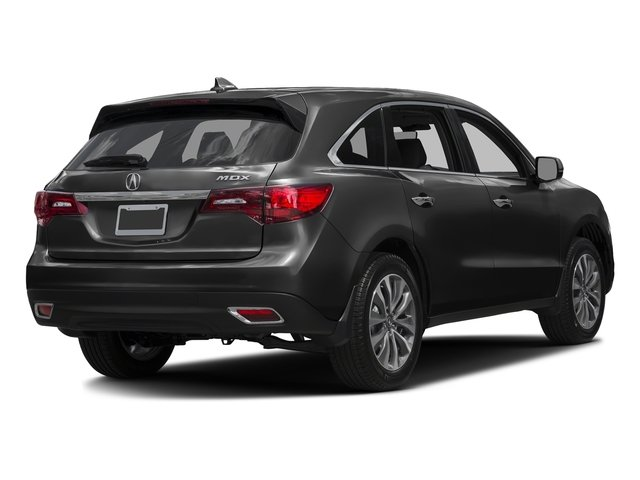 Graphite Luster Metallic 2016 Acura MDX Pictures MDX Utility 4D Technology DVD 2WD V6 photos rear view