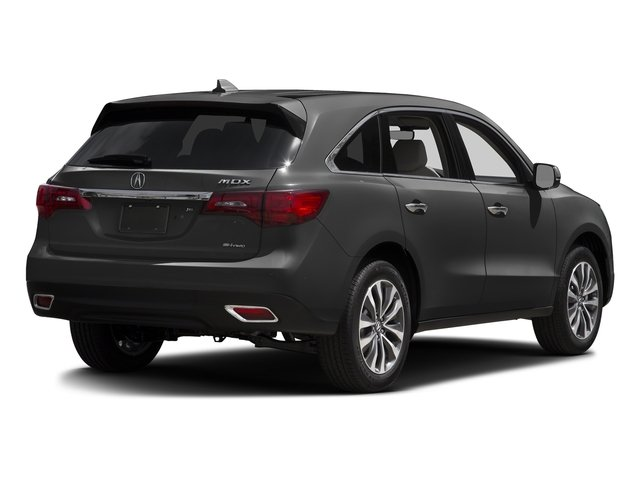 Graphite Luster Metallic 2016 Acura MDX Pictures MDX Utility 4D Technology AWD V6 photos rear view