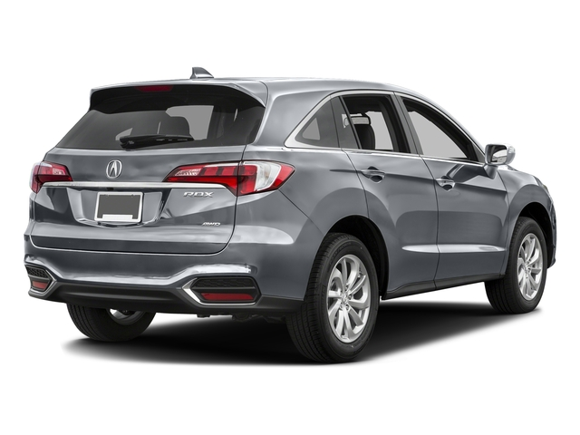 Slate Silver Metallic 2016 Acura RDX Pictures RDX Utility 4D Technology AWD V6 photos rear view