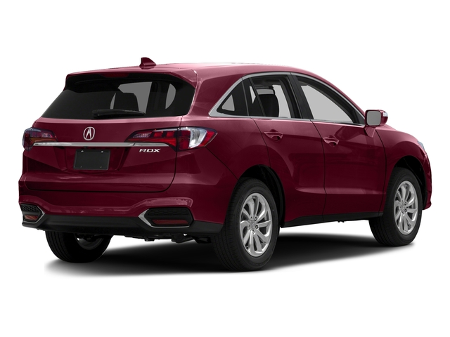 Basque Red Pearl II 2016 Acura RDX Pictures RDX Utility 4D 2WD V6 photos rear view