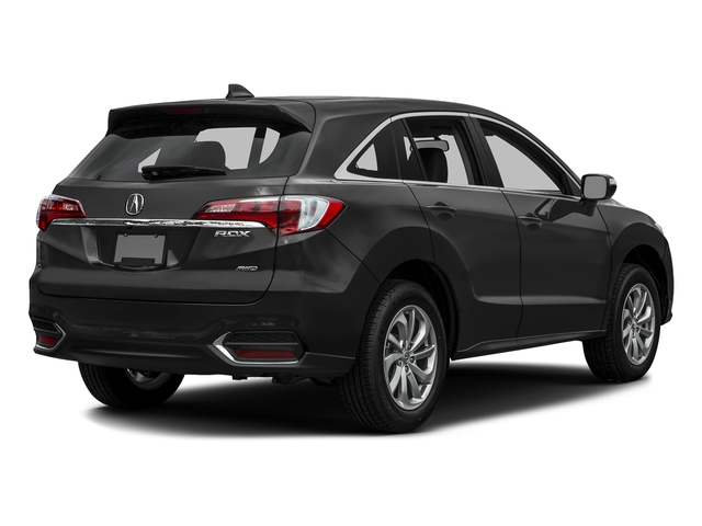 Graphite Luster Metallic 2016 Acura RDX Pictures RDX Utility 4D AWD V6 photos rear view