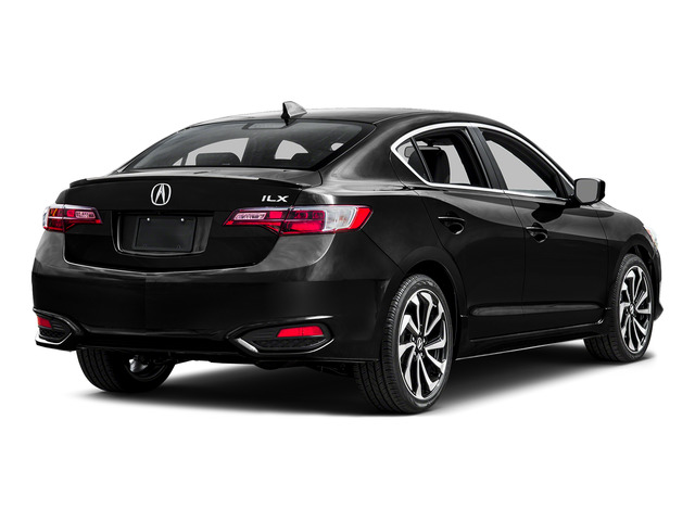 Crystal Black Pearl 2016 Acura ILX Pictures ILX Sedan 4D Technology Plus A-SPEC I4 photos rear view