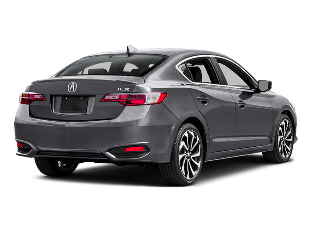Slate Silver Metallic 2016 Acura ILX Pictures ILX Sedan 4D Technology Plus A-SPEC I4 photos rear view