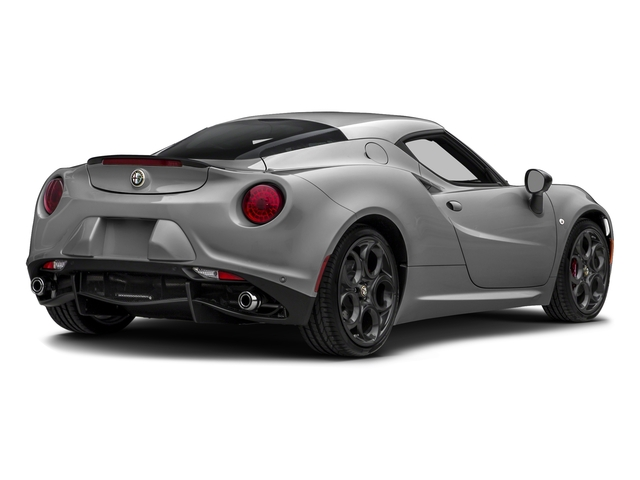 Basalt Gray Metallic 2016 Alfa Romeo 4C Pictures 4C Coupe 2D I4 Turbo photos rear view